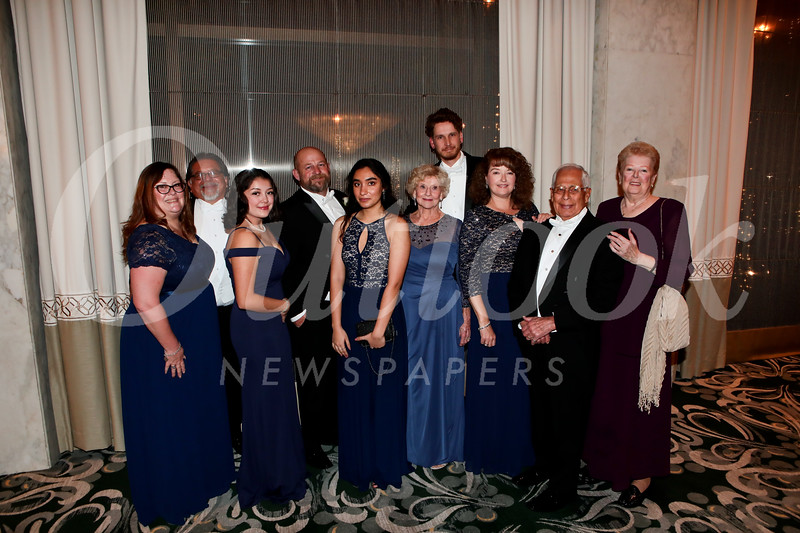Susan, Ernesto and Alyssa Rojas, Jason DuNah, Mansi Gokani, Roberta Salazar, Drew Pratt, Justene Pierce, David Salazar and Diane Pierce