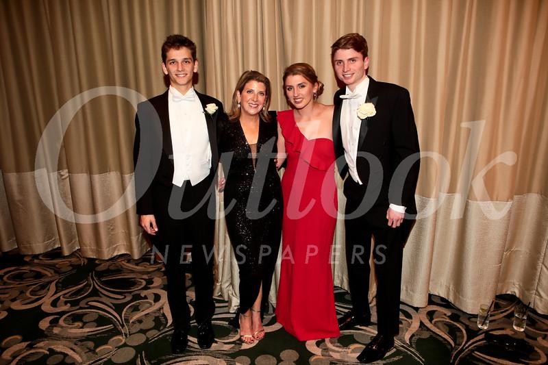 Aidan Doheny, Lisa Doheny, and Lindsay and John Snaer