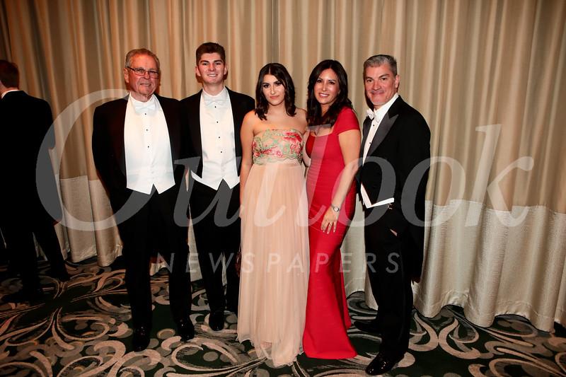 Gerald Cameron with Nicholas, Ashley, Stephanie and Gabriel Cruz