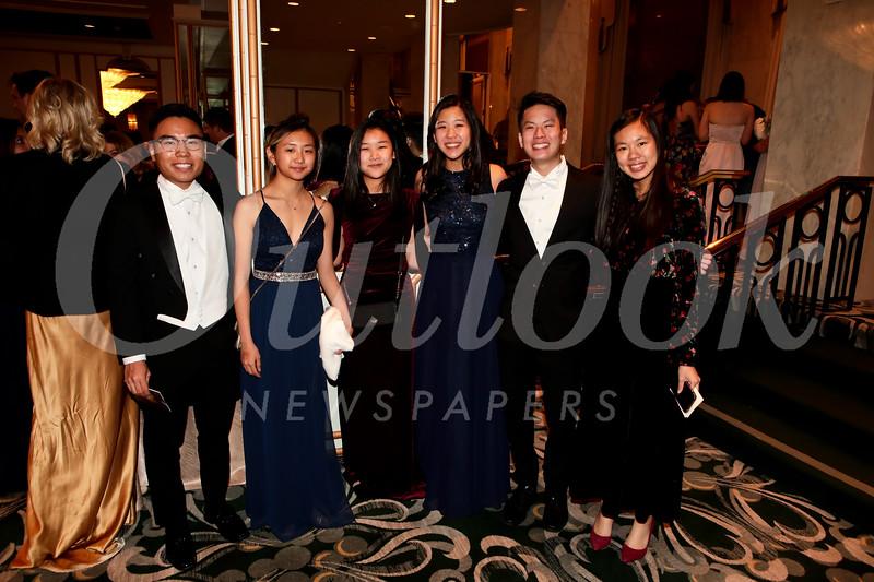 Matthew Matsuda, Kelly Chang, Christine Mok, Kyana Huang, Jonathan Weng and Jamie Lam