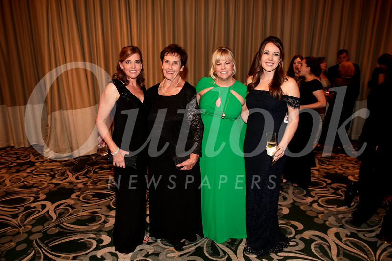 Julie and Kelly Hannan, Alison McCrary and Ellie Hannan