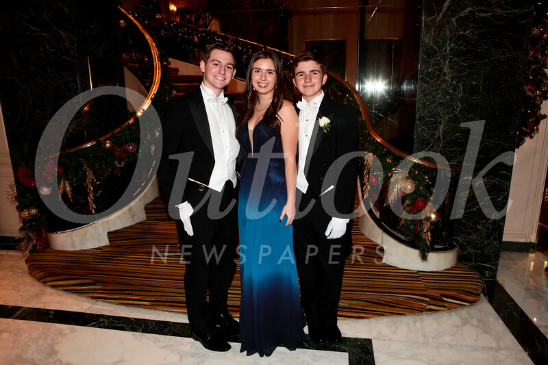 Cannon Nielsen, Leily Rossi and Gavin Rossi