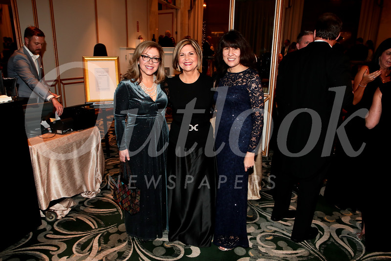 Lynette Sohl, Elise Brunner and Rosemary Graham