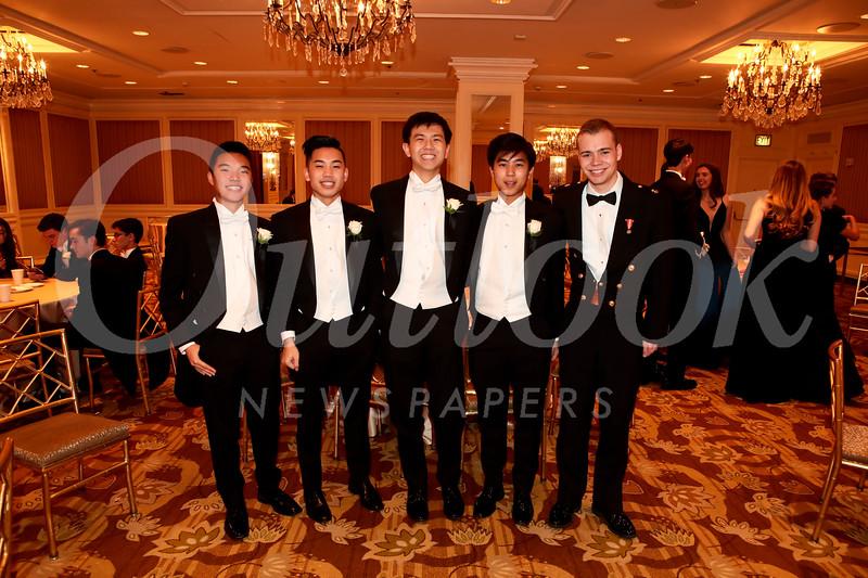 Jonathan Tsai, Spencer Mar, Baxton Chen, Joseph Kuo and Patrick McDonald