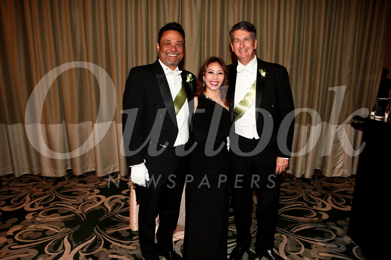 Wil and Michelle Rose with Dave Bell