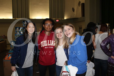 Marielle Kang, Katherine Norton, Grace Davis and Alex McCrary