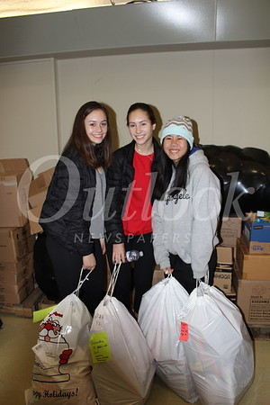 Alana and Elisa O'Reilly with Hope Sadahivo