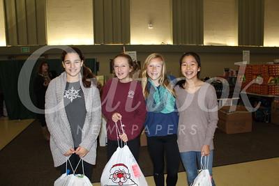 Lauren Ginn, Katey Bell, Mackenzie Dawes and Caris Lee