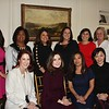 Mothers of 2018 debutantes include Sheri Bender (front row, from left), Myrna McLane, Dina McCall and Elizabeth Kay-Im. Back: Yvette Nikoui-Smith, Allison Byrna, Flavia LoCoco, Laura Miera, Bernadette Hotaling and Molly Gervais.