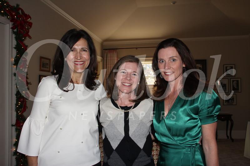 Moya Collins, Jennifer Thompson and Una Battaglia