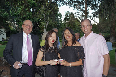 Peter and Liz Lichtman with Christina and Matthew Pink