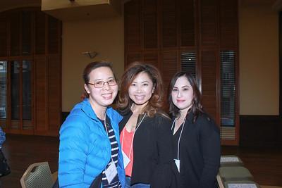 Alison Champon, Susan Lim and Elana Mejia