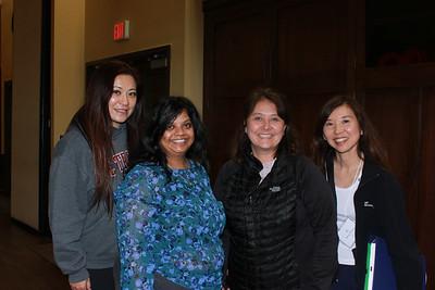Sylvia Koh, Sri Abboy, Nancy Campana and Wendy Tanouye