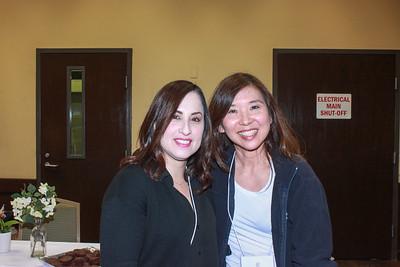Elena Mejia and Wendy Tanouye