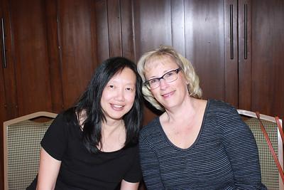Grace Wen and Marlene Klusman