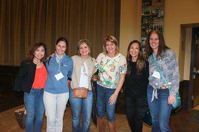Susan Lim, Leslee Talt, Elise Brunner, Marci Wendling, Sandra Ho and Anna Marie Grizzell