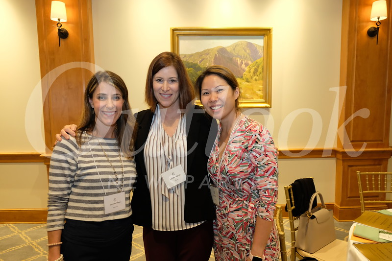 Jennifer Ward, Jennifer Nyhan and Soo Lin