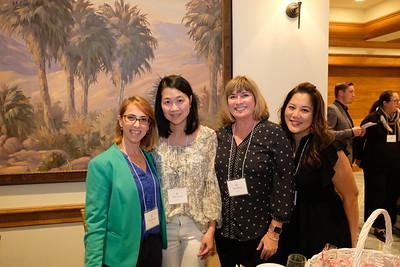 Ella Shadmon, Doris Cheung, Heidi Derrick and Grace Navarrete