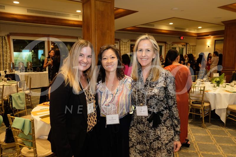 Kim Spindler, Nina Kirkendall and Margi Kuhn