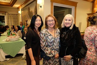 Grace Wen, Diana David and Kim Covey