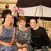 Cori Solan, Huntington Hospital's Director of Volunteer Services Stacy Miller and Jane Feinberg