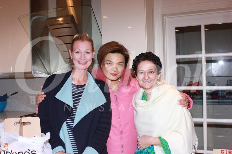 Cori Solan, Janice Wong and Jane Feinberg