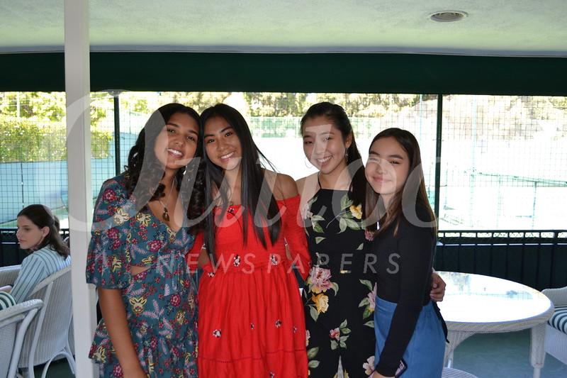 Bridget Byrne, Alyssa Navarrete, Caris Lee and Erisa Rosen