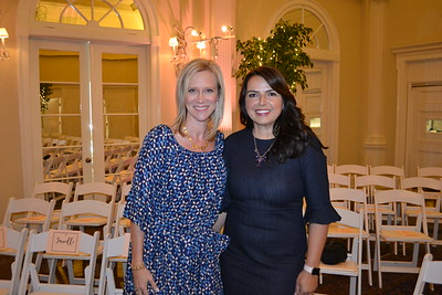 Kristin Chapman and Sheila Rossi
