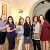 Molly Gervais, Yvette Nikoui-Smith, Dina McCall, Myrna McLane, Allison Byrne and Sheri Bender