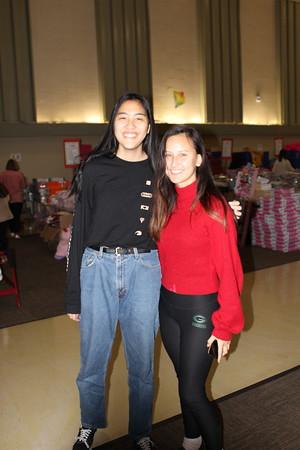 Zoe Yan and Kaylee Campana