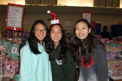 Chloe Lin, Lauren Ho and Natalie Alonzo