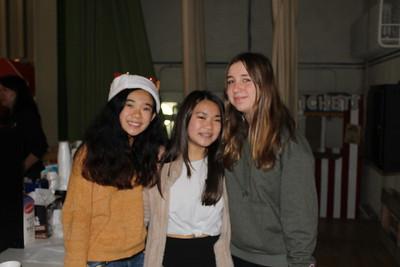 Megan Choa, Lindsey Segimoto and Catherine Baldocchi
