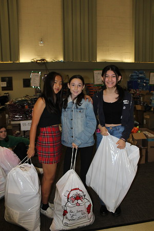 Alexandra Ho, Molly Nyhan and Emma Sahakian