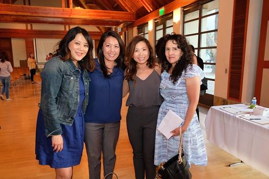 Grace Navarrete, Jennifer Chuang, Susan Lim and Gemma Iannelli