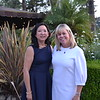 Outgoing President Christine Chin and incoming President Alison McCrary
