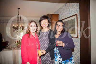 Myrna McLane, Denise Gee and Yvette Nikoui-Smith