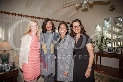 Holly Larsen, Moya Collins, Christina Pink and Alexandra Brousseau