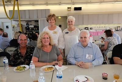 Steve and Shelley Gilmore, Councilwoman Susan Jakubowski, Sandra Troup and Bill Shor