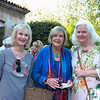 Mary Payne, Fran Benuska and Gail James