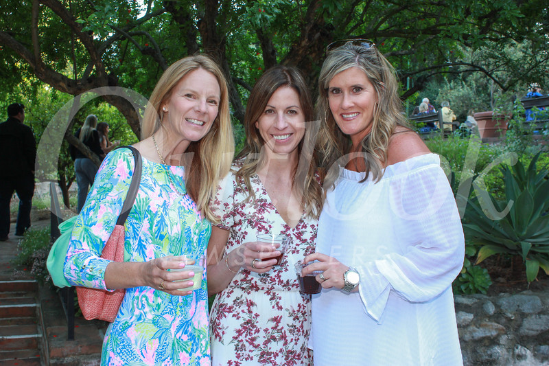 Chrissy Piller, Nikki Goebel and Kacky Kuechle