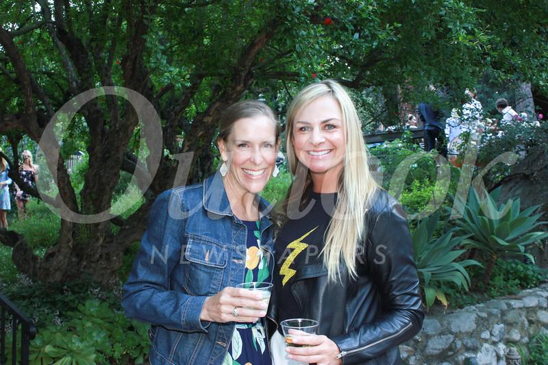 Ellie Winnerkrans and Lori Sutherland