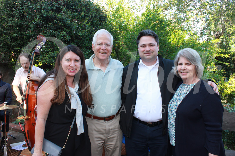 Katie Litwin, Steve Rolfe, Kevin Litwin and Gail Rolfe