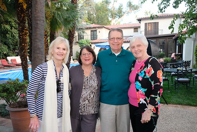 Mary Payne, Debbie Priester, and Will and Ave Bortz