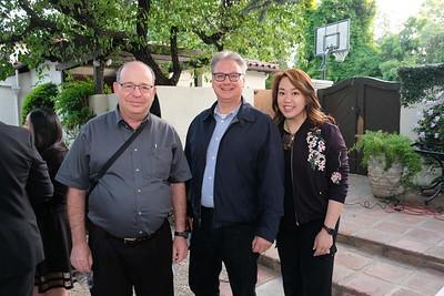 Andrew Kindler, Frank Antonides and Luyi Khasi