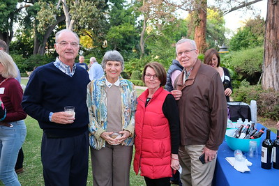 Phillip and Lois Matthews with Liz and Dennis Kneier