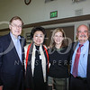 Brian McMahon and Janice Lee McMahon with Debra and Dr  Alfredo Sadun