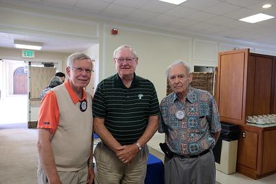 Dennis Kneier, Emile Bayle and Lee Mothershead