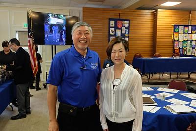 Isaac Hung and Fang Ho