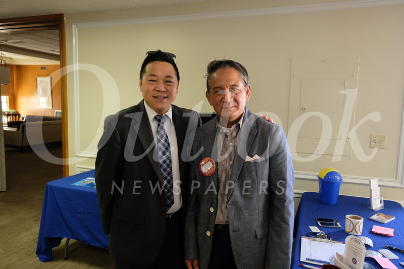 Jonathan Duong and Maurice Saldebar