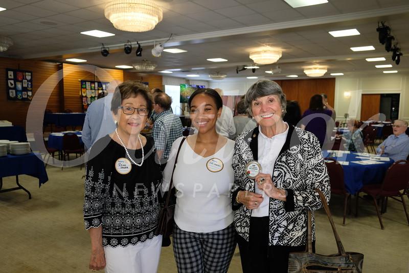 Dr. Reiko Sakata, Cali Watson and Lois Matthews